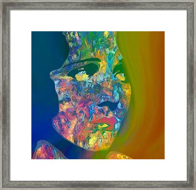 Inner Beauty Pop Art Framed Print by Dan Sproul