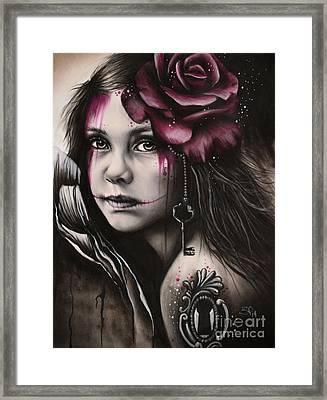 Inner Child Framed Print by Sheena Pike