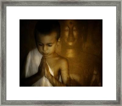 Inner Light Framed Print by Gun Legler