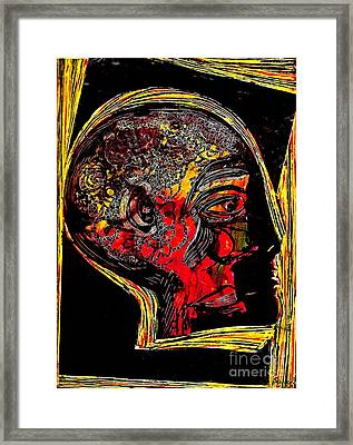 Inner Man Framed Print by Sarah Loft
