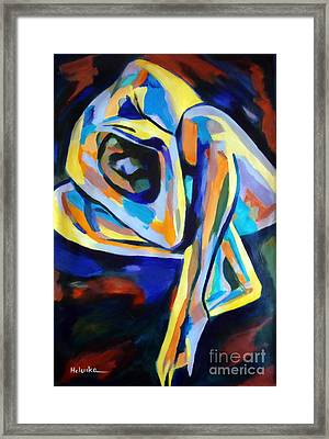 Inner Reality Framed Print by Helena Wierzbicki