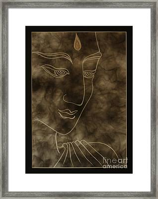 Inner Self Peace Framed Print by Aixa Rios