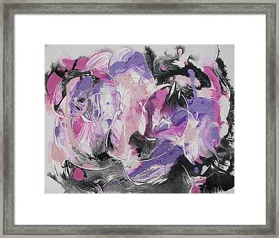 Inner Turmoil Framed Print by Suzanne  Marie Leclair