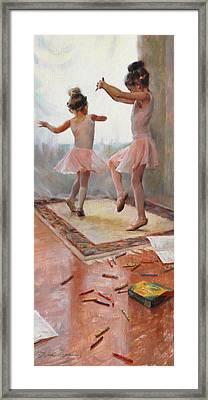 Innocence Framed Print by Anna Rose Bain