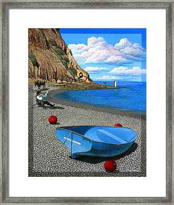 Inquiries Framed Print by Snake Jagger