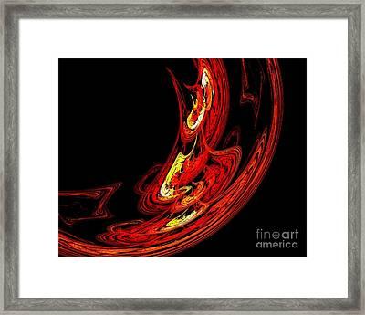 Insemination Framed Print by Renee Trenholm