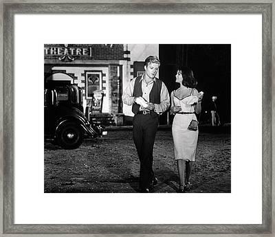 Inside Daisy Clover  Framed Print by Silver Screen