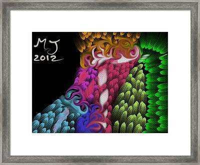 Inside My Mind Framed Print by Michael Jordan