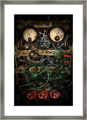 Inside My Phone Framed Print by Nathan Wright