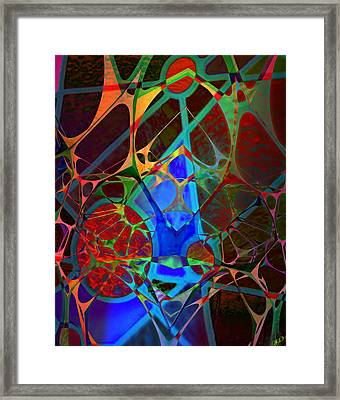 Inside Out Framed Print by Ally  White