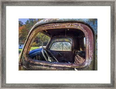 Inside Out Framed Print by Debra and Dave Vanderlaan