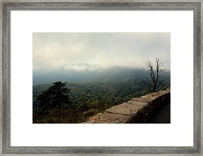 Inside The Clouds Framed Print by Shannon Louder