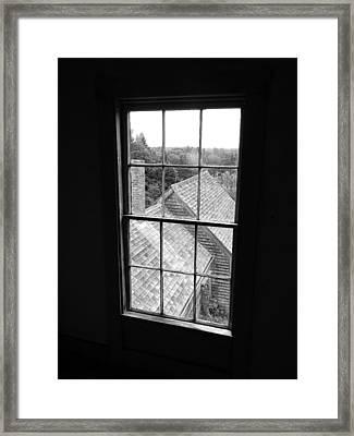 Inside The Olson House Framed Print by Joel White