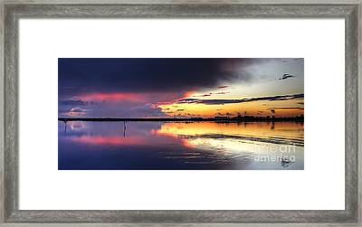 Inside The Storm Framed Print by English Landscapes