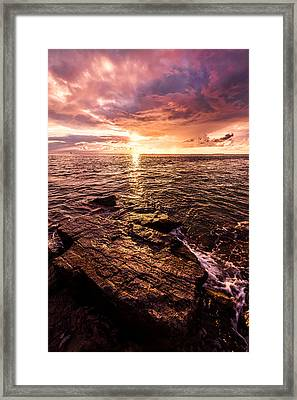 Inspiration Key Framed Print by Chad Dutson