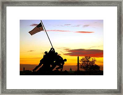 Inspiration Framed Print by Mitch Cat