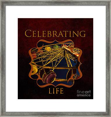 Inspirational And Fun Gallery Framed Print by Iris Richardson