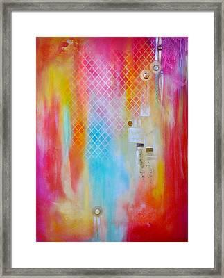 Inspired Framed Print by Debi Starr