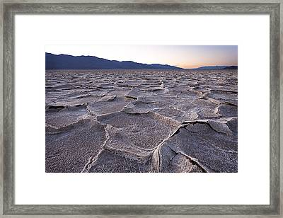 Inspiring Emptiness II Framed Print by Dominique Dubied