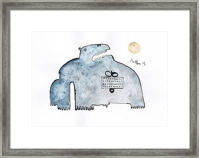 Instar No.3 Framed Print by Mark M  Mellon