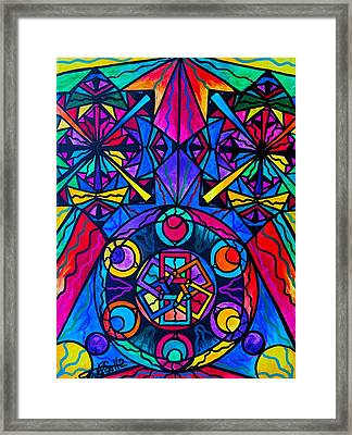 Integrity  Framed Print by Teal Eye  Print Store