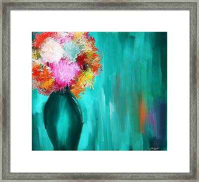 Intense Eloquence Framed Print by Lourry Legarde