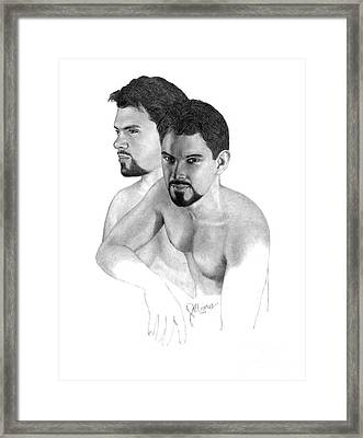 Intense Stare Framed Print by Joe Olivares