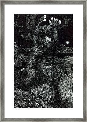 Inter Framed Print by Kd Neeley