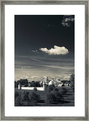 Intercession Convent In Suzdal Framed Print by Panoramic Images