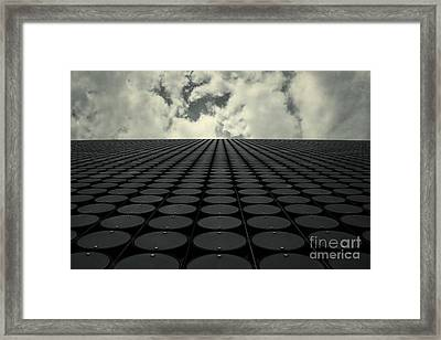 Interdimensional Framed Print by Andrew Paranavitana