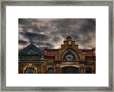 Interesting Architecture  Framed Print by Thomas Young