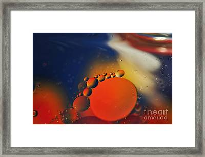 Intergalactic Space 2 Framed Print by Kaye Menner