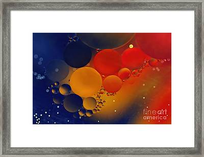 Intergalactic Space 3 Framed Print by Kaye Menner