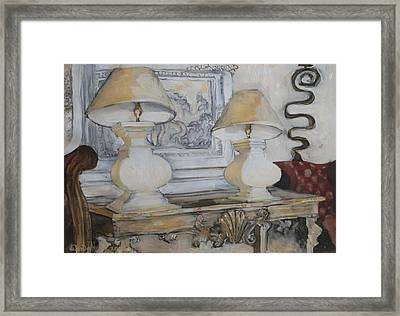 Interior 3 Framed Print by Wendy Head