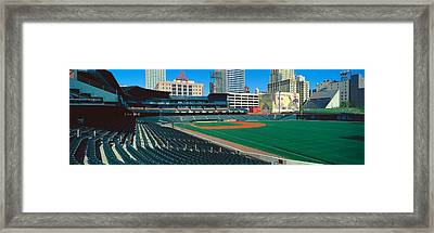 Interior Of Autozone Baseball Park Framed Print by Panoramic Images