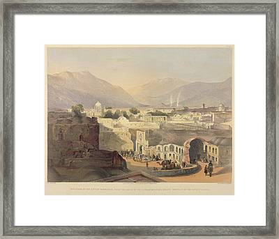 Interior Of The City Of Kandahar Framed Print by British Library