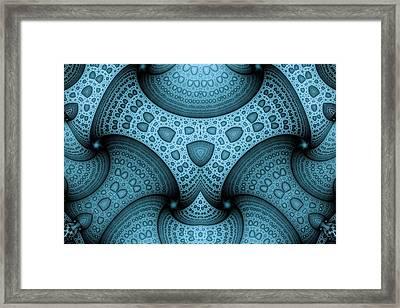 Interlocking Patterns Framed Print by Mark Eggleston