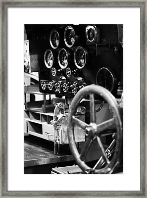 Internal Mechanics Uss Bowfin V4 Framed Print by Douglas Barnard