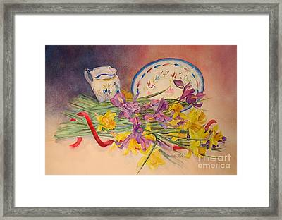 Intertwined Framed Print by Beatrice Cloake