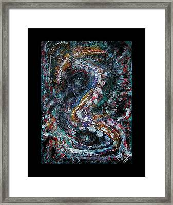 Into Eternity Framed Print by Mimulux patricia no