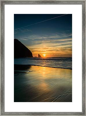 Into The Blue II Framed Print by Marco Oliveira