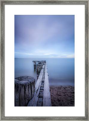 Into The Deep Blue Framed Print by Shari Mattox