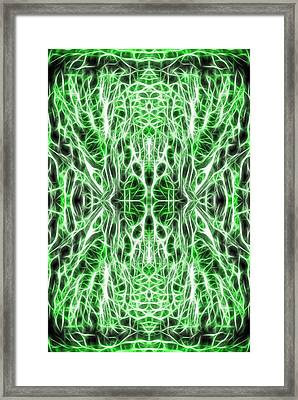 Into The Matrix Framed Print by Dan Sproul
