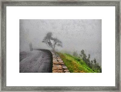 Into The Mist Framed Print by Gun Legler