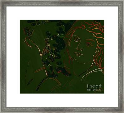 Into The Mystic Framed Print by Carrie Joy Byrnes