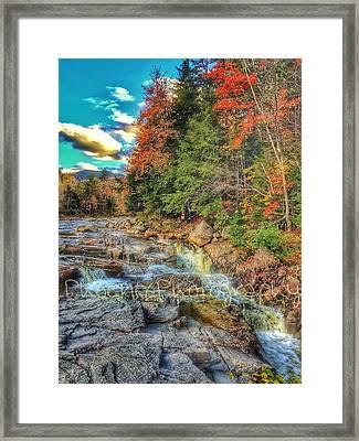 Waterfall Framed Print by John Adams