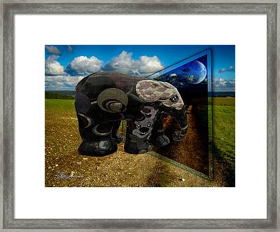 Into The Night Framed Print by EricaMaxine  Price