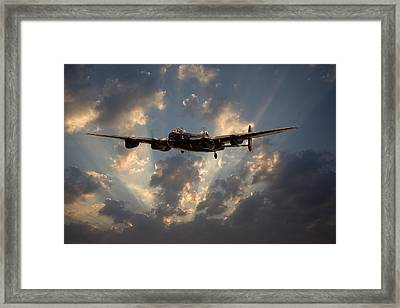 Into The Night Framed Print by Pat Speirs