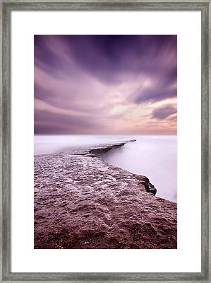 Into The Ocean Framed Print by Jorge Maia