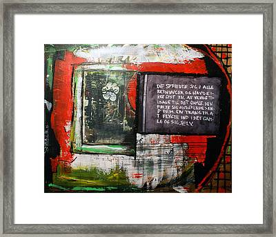 Into The Old Framed Print by Sanne Rosenmay